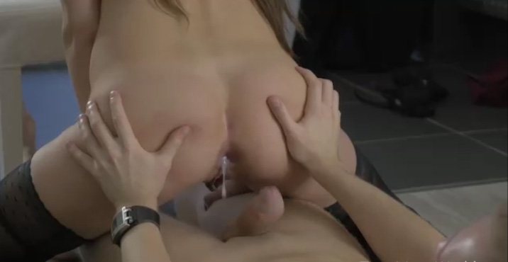 hard dick in her pretty asshole